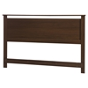 Primo Full/Queen Headboard - Brown Walnut - SS-10337