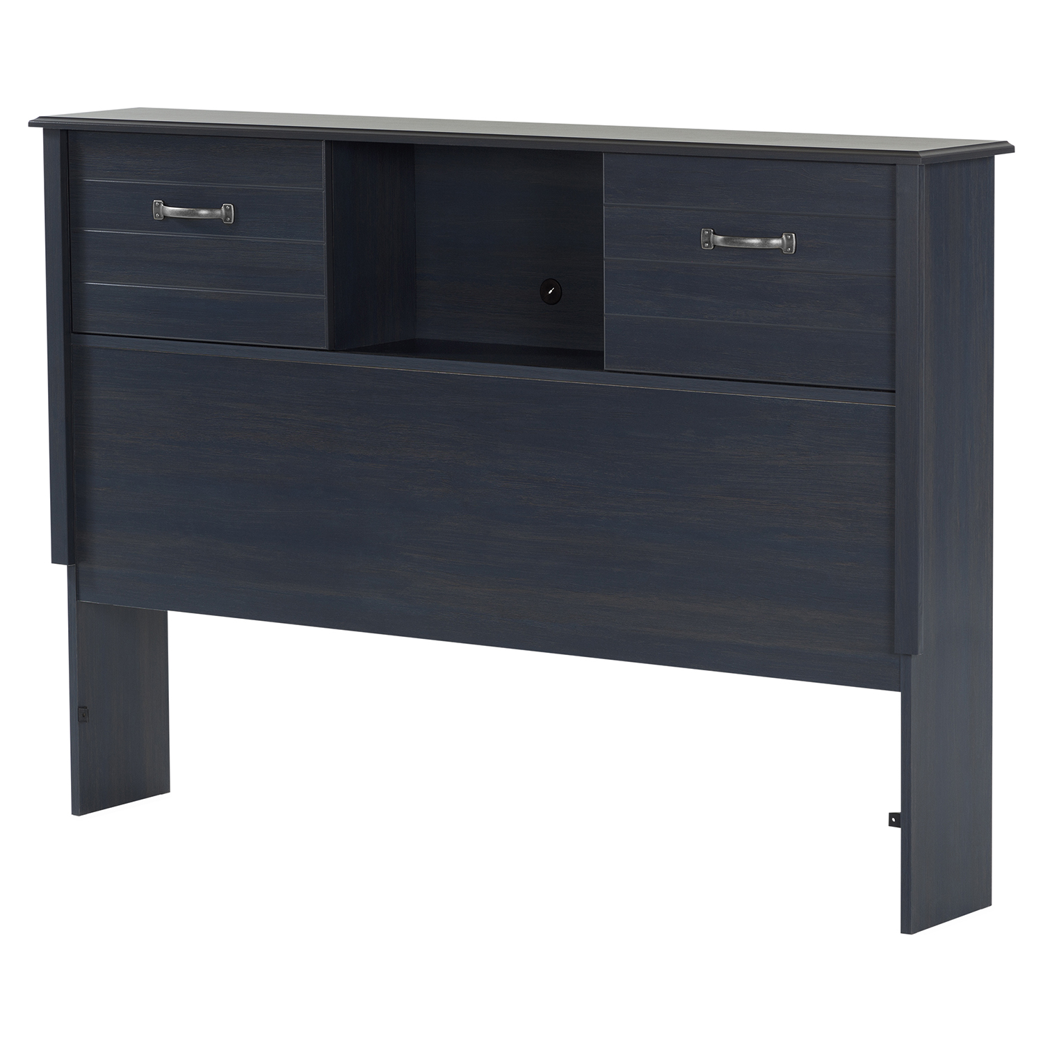 Ulysses Full Mates Bedroom Set - 3 Drawers, Blueberry - SS-1036-F
