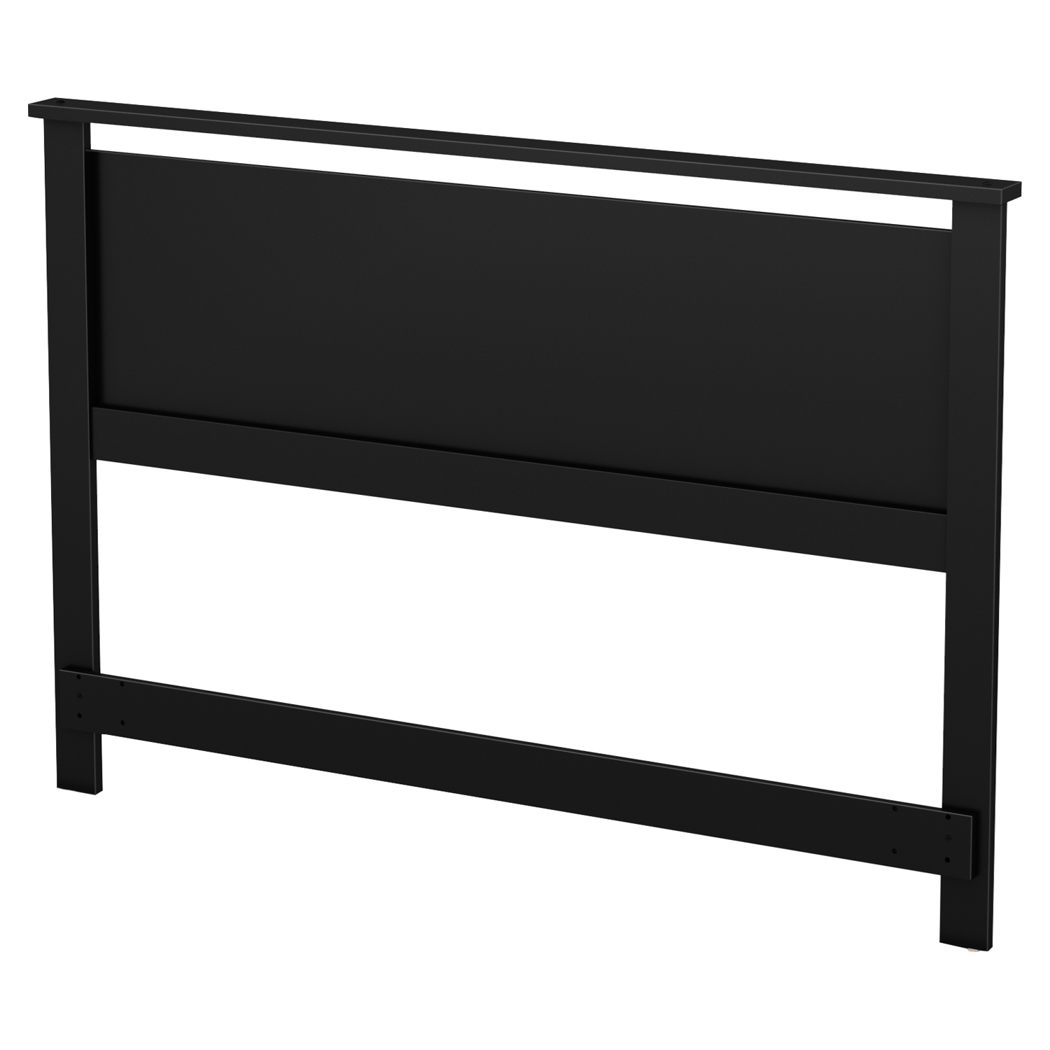 Primo Full/Queen Headboard - Pure Black - SS-10367