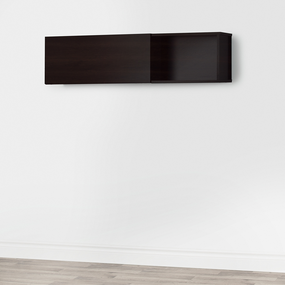 City Life Wall Mounted Storage Unit Chocolate Dcg Stores