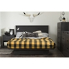 Holland Full/Queen Platform Bedroom Set - Gray Oak - SS-1039-BED-SET