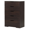 Holland Chest - 5 Drawers, Havana - SS-10401