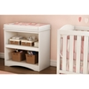 Peek-a-boo Changing Table - Pure White - SS-2260334