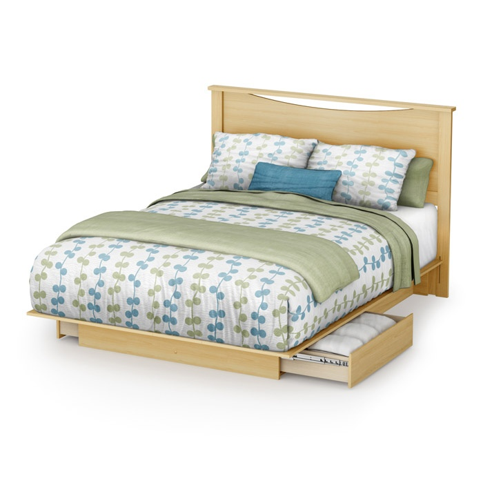 Step One Storage Bed with Headboard