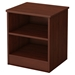Libra Nightstand - 2 Open Storages, Royal Cherry - SS-3046059