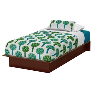 Libra Twin Platform Bed - Royal Cherry