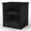 Libra Black Nightstand