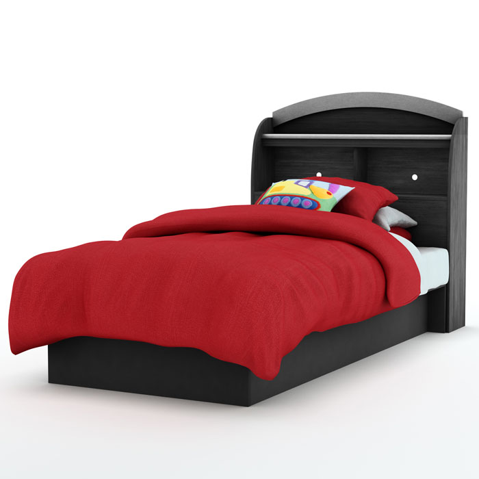 Libra Low Profile Twin Bookcase Bed