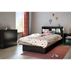 Libra Twin Bookcase Headboard - Pure Black - SS-3070098