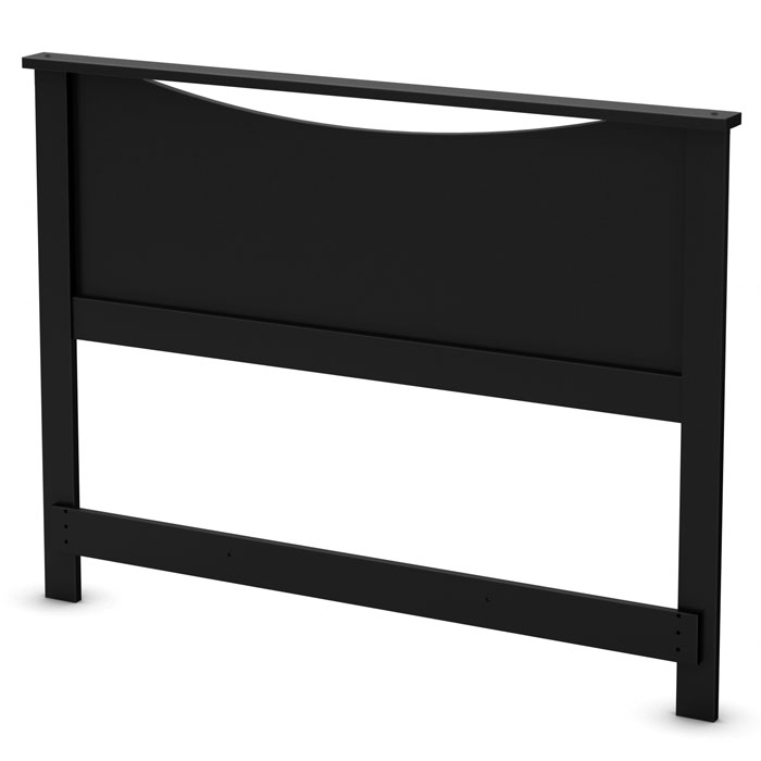 Step One Black Headboard - SS-3107