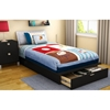 Step One Twin Platform Bed with Drawer - SS-3107245