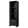 Step One Bookcase - 3 Shelves, Pure Black - SS-3107652