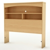 Step One Natural Maple Twin Bookcase Headboard - SS-3113098