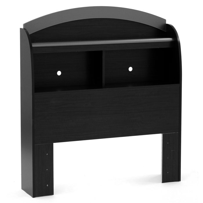 Cosmos Modern Twin Bookcase Headboard