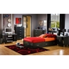 Cosmos Modern Twin Bookcase Headboard - SS-3127098