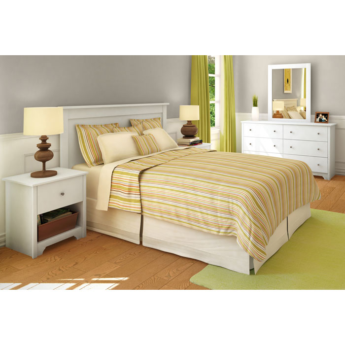 Vito 6-Drawer Dresser in White - SS-3150010