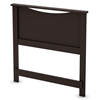 Libra Twin Headboard in Chocolate Finish - SS-3159089