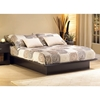 Step One Low Profile Platform Bed in Chocolate - SS-31592