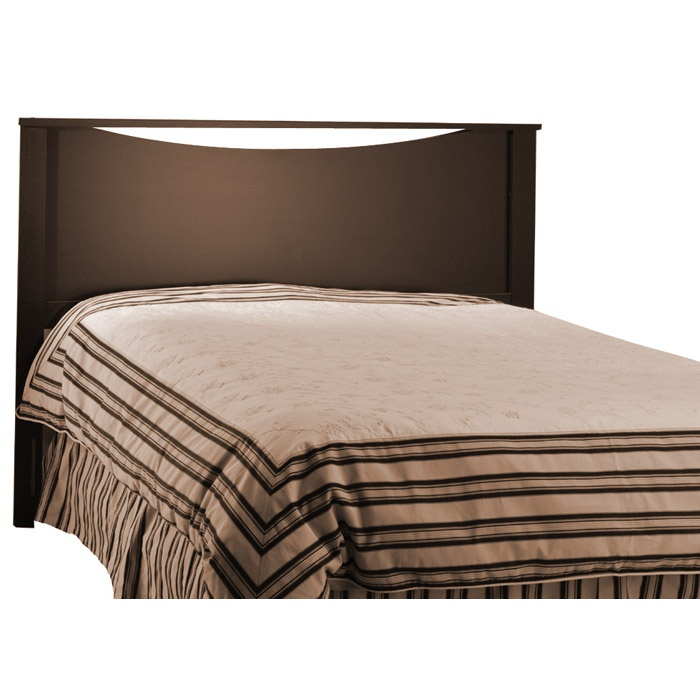 Step One Chocolate Storage Bed with Headboard - SS-3159217-3159270