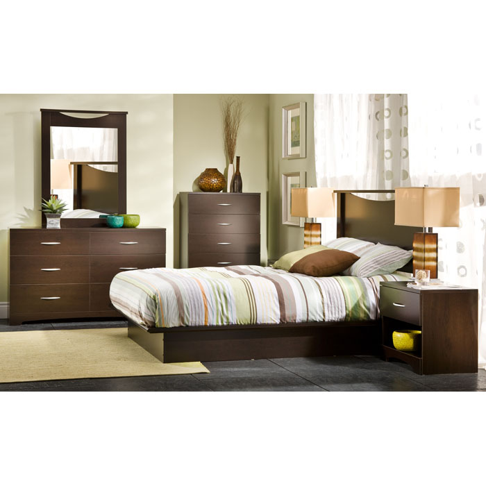 Step One Chocolate Chest with 5 Drawers - SS-3159035