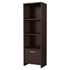 Step One Bookcase - 3 Shelves, Chocolate - SS-3159652