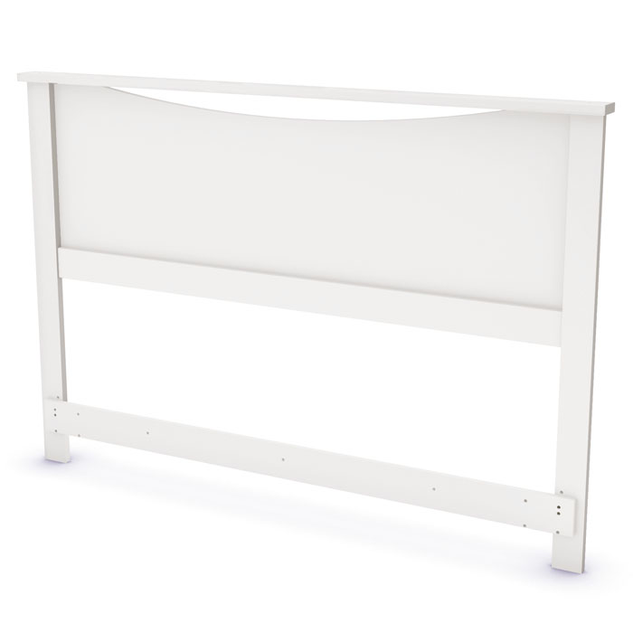 Step One White Storage Bed with Headboard - SS-3160217-3160270