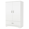 Step One Armoire - 2 Doors, Pure White - SS-3160037