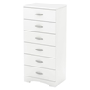 Step One Chest - 6 Drawers, Pure White - SS-3160066