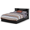 Vito Black Queen Bedroom Set with Bookcase Bed - SS-3170-4PC