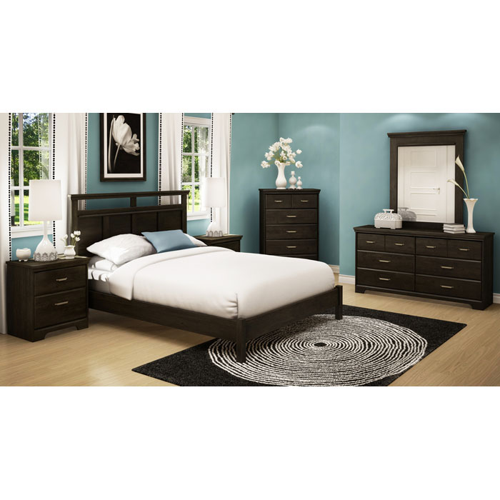 Versa Headboard in Ebony - SS-3177256