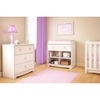 Little Jewel Chest - 3 Drawers, Pure White - SS-3180033