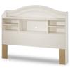 Summer Breeze Whitewash Full Bookcase Headboard Dcg Stores