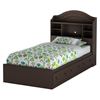 Summer Breeze Bedroom Set in Chocolate - SS-3219-4PC