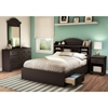 Summer Breeze Chocolate Full Mate's Bed - SS-3219211