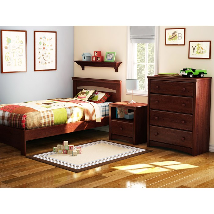 Sweet Morning Royal Cherry Nightstand - SS-3246062