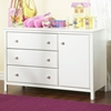 Cotton Candy White 3-Drawer Changing Table - SS-3250333