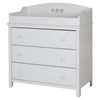 Cotton Candy Changing Table - 3 Drawers, Pure White - SS-3250330