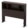 Cacao Twin Bookcase Headboard in Chocolate - SS-3259098