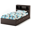 Cacao Youth Bedroom Set with Twin Mate's Bed - SS-3259-4PC-KIDS