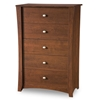 Jumper 5-Drawer Chest in Classic Cherry - SS-3268035