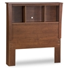Jumper Twin Bookcase Headboard in Classic Cherry - SS-3268096