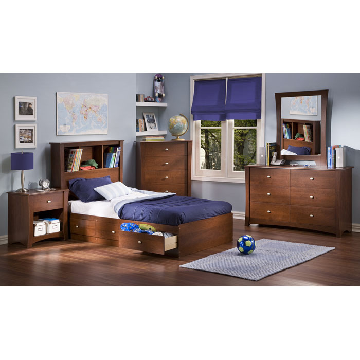 Jumper 6-Drawer Dresser in Classic Cherry - SS-3268027