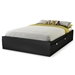 Spark Full Mate's Bed in Black - SS-3270211