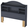Summer Breeze Full Bookcase Headboard - Blueberry - SS-3294093