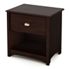 Willow Transitional Nightstand in Havana Brown - SS-3339062