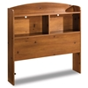 Logik Storage Headboard in Sunny Pine Finish - SS-3342098