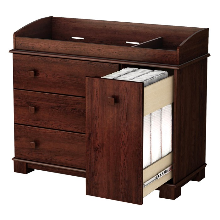 precious changing table with vertical sliding drawer dcg stores