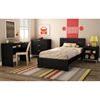 Flexible 3 Piece Kids Bedroom Set in Black Oak - SS-33477-3PC