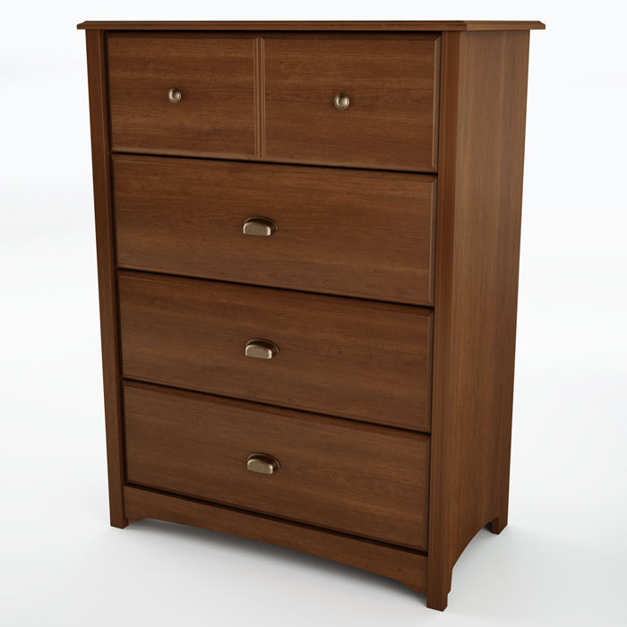 Willow Cherry Bedroom Chest with 4 Drawers