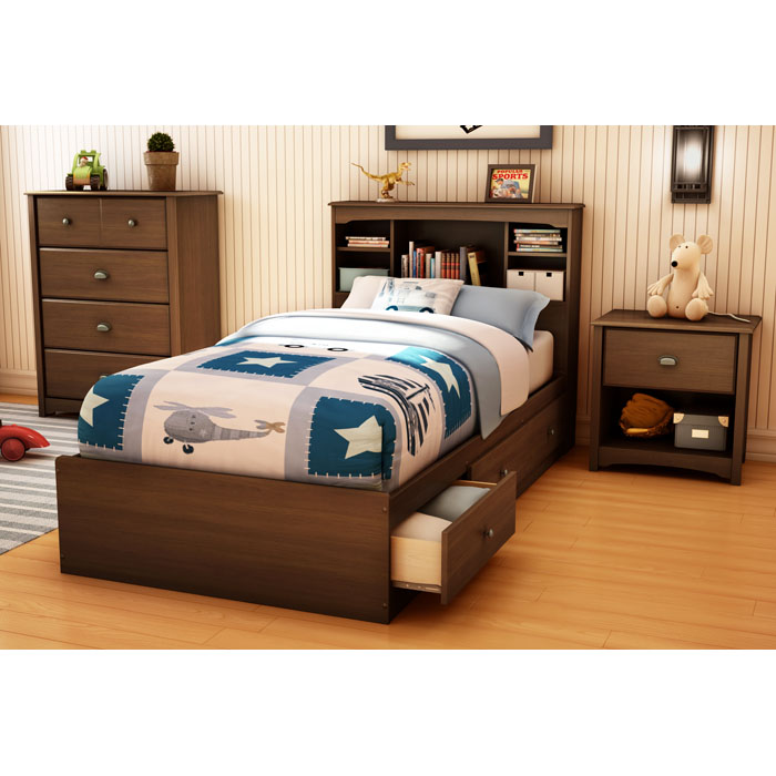 Willow Twin Mate's Bed, Chest, and Nightstand Set